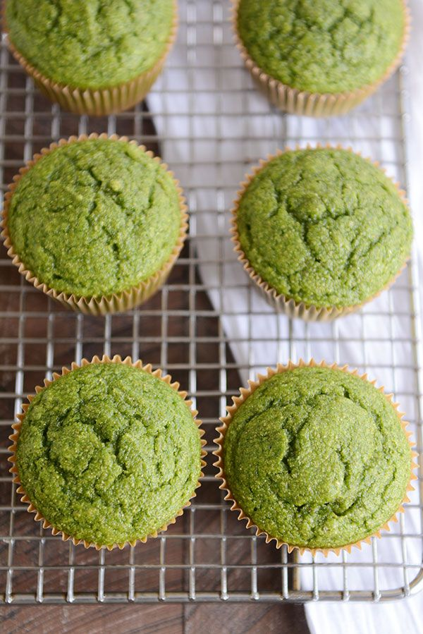All-Natural Green Muffins   Whole Grain + Healthy   Mel's Kitchen Cafe