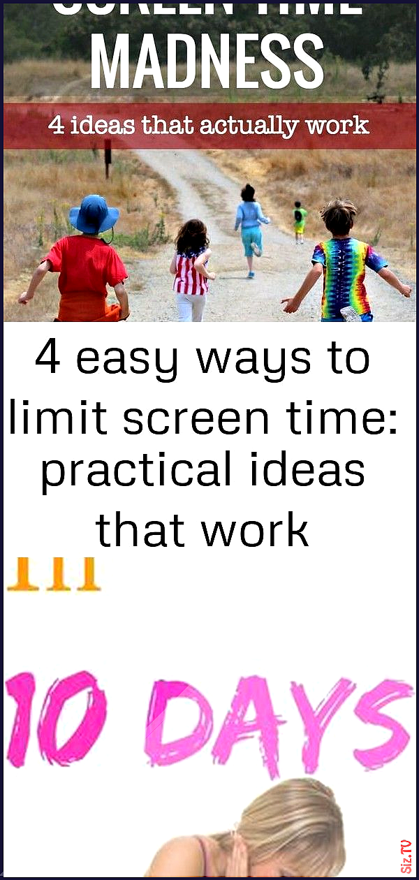 4 easy ways to limit screen time practical ideas that work 4 easy ways to limit screen time practica...