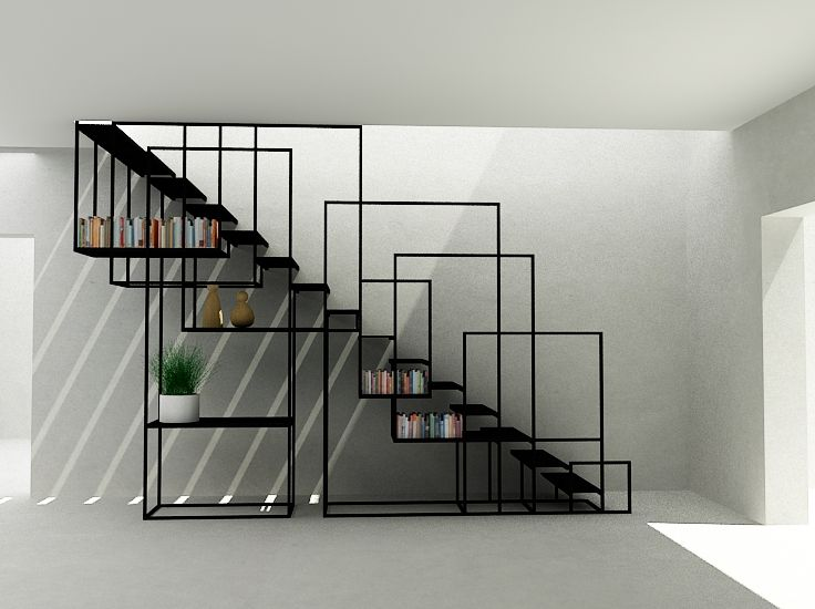 Best Box Section Staircase By Design Weld Escalier Design 640 x 480