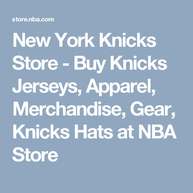 buy popular b2969 dbd96 New York Knicks Store - Buy Knicks Jerseys, Apparel ...