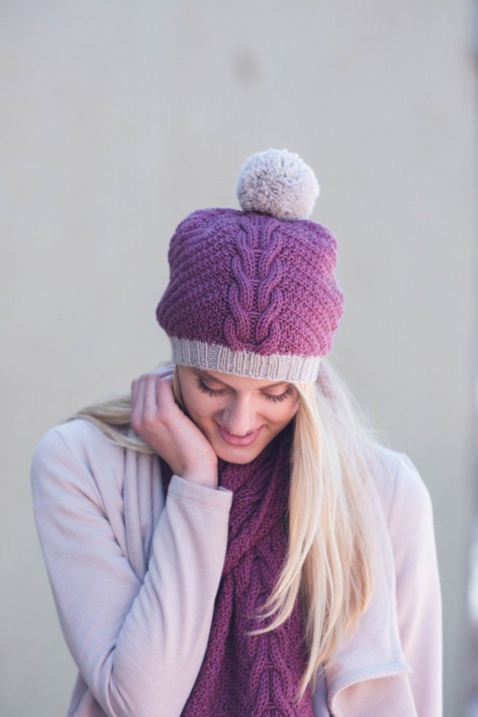 The Only Knitted Hat Scarf Set You Need Knitted Hat Patterns
