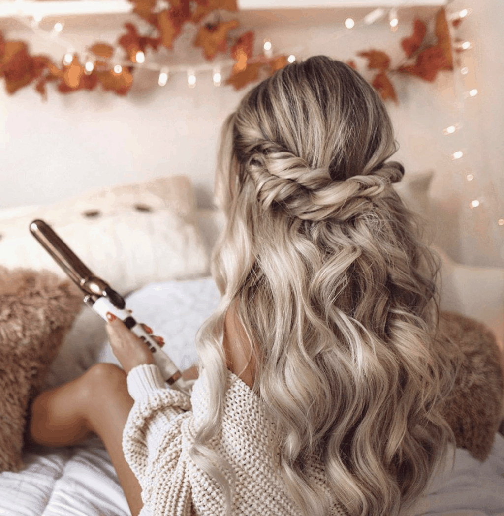 10 Stupid Easy Thanksgiving Hairstyles To Try This Year In 2020 Thanksgiving Hairstyles Cute Hairstyles For Teens Hair Styles