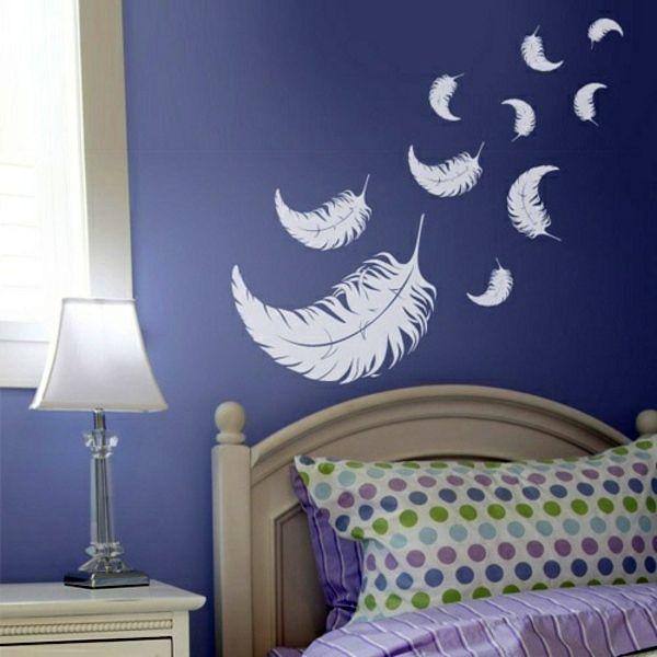 Bedroom Wall Design Image Result For Purple Blue Wall  Bedroom  Pinterest  Blue