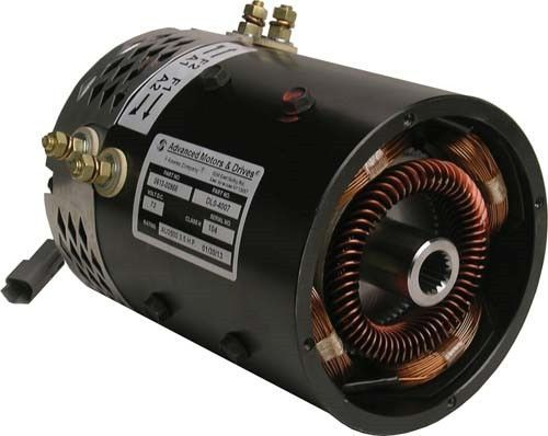 Gem Car 72 Volt Stock Replacement 5 Hp Electric Shunt Wound Motor Advanced Motors Drivers Part Amd Gjo 4001 Is A Direct Drop In