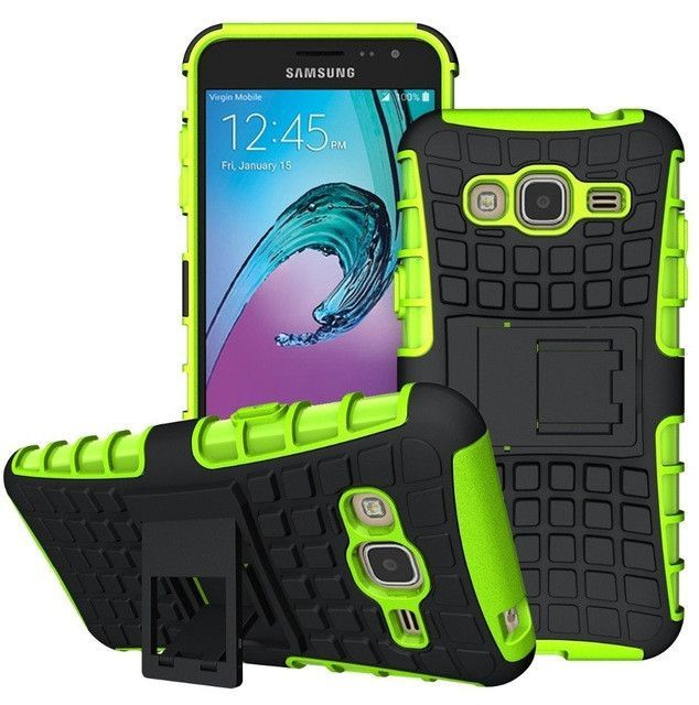 Hybrid Dual Cover Shock Proof Case For Samsung Galaxy