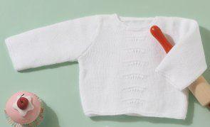 Revista bebé 72 Primavera / Verano | 12: Bebé Jersey | Blanco