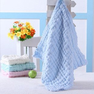 2pcs/Set 6 layer 28*28cm 100% Cotton Baby Bib Towel Gauze Muslin Washcloth Baby Wipe Sweat Absorbing baby bibs soft Handkerchief