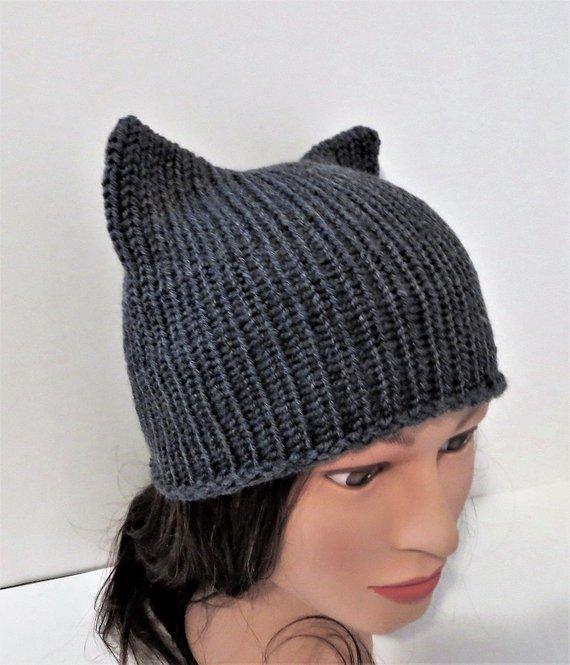 f72aa24238e Gray Cat Hat