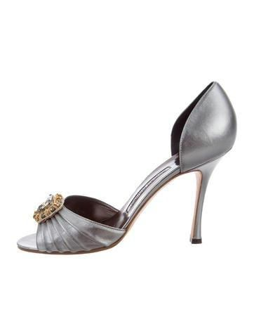 recommend Manolo Blahnik Sedaraby Crystal Pumps w/ Tags for sale sale online cheap sale browse YBKSfHV