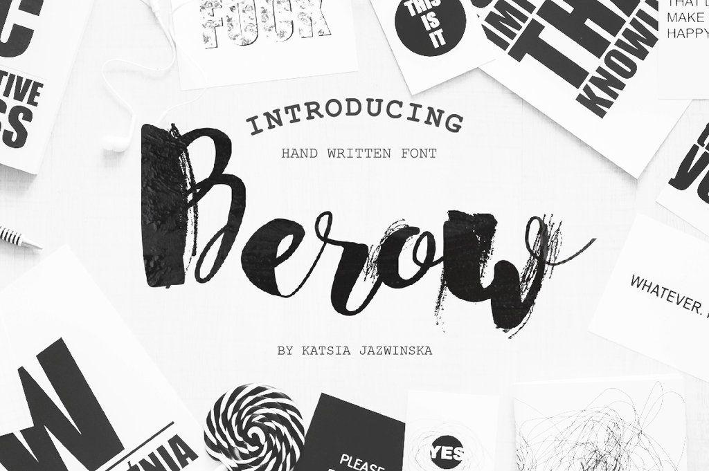 Berow Grunge Script By Creativework247 Deviantart Com On Deviantart Lettering Fonts Commercial Fonts Business Card Mock Up