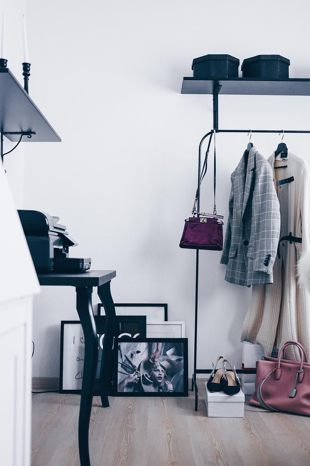 Mein Blogger Home Office: Stylisch, aber funktional | Closet ...