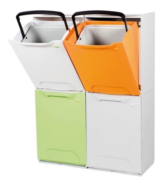 Cubells apilabes 35 un residuos hogar pinterest for Cubos de reciclaje ikea