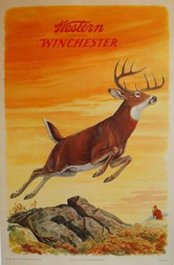 Winchester hunting poster