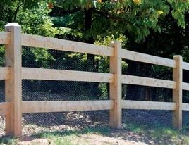 Split Rail Fence With Modern House Modern Fence Tradgard