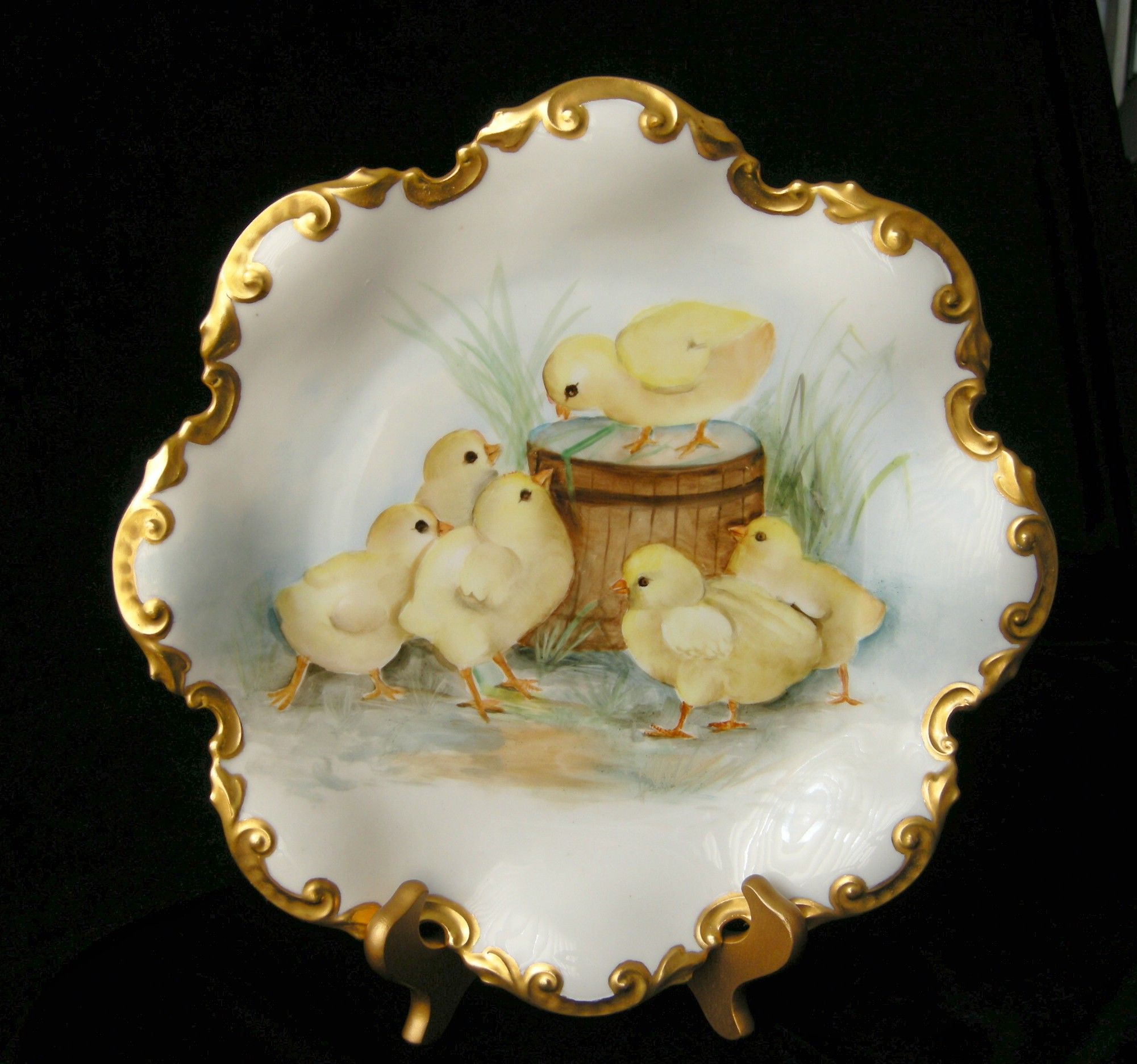 """""""BABY CHICKS"""" Limoges"""