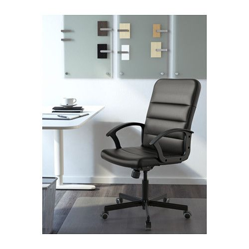 IKEA TORKEL SWIVEL OFFICE CHAIR DESK COMPUTER BUSINESS COMFORTABLE ROOM BLACK