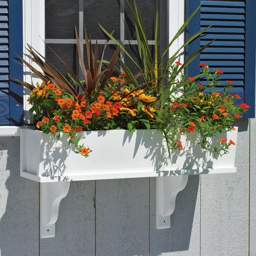 PLANS TO BUILD Your Very Own Wooden Window Flower Box Planter
