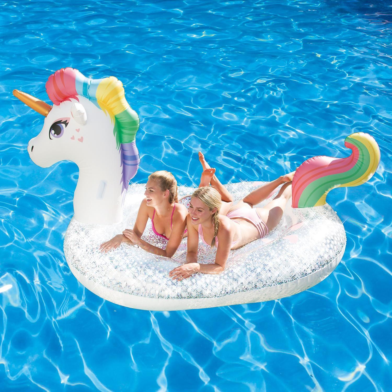 Wave Giant Inflatable Unicorn Paddling Pool and Boat