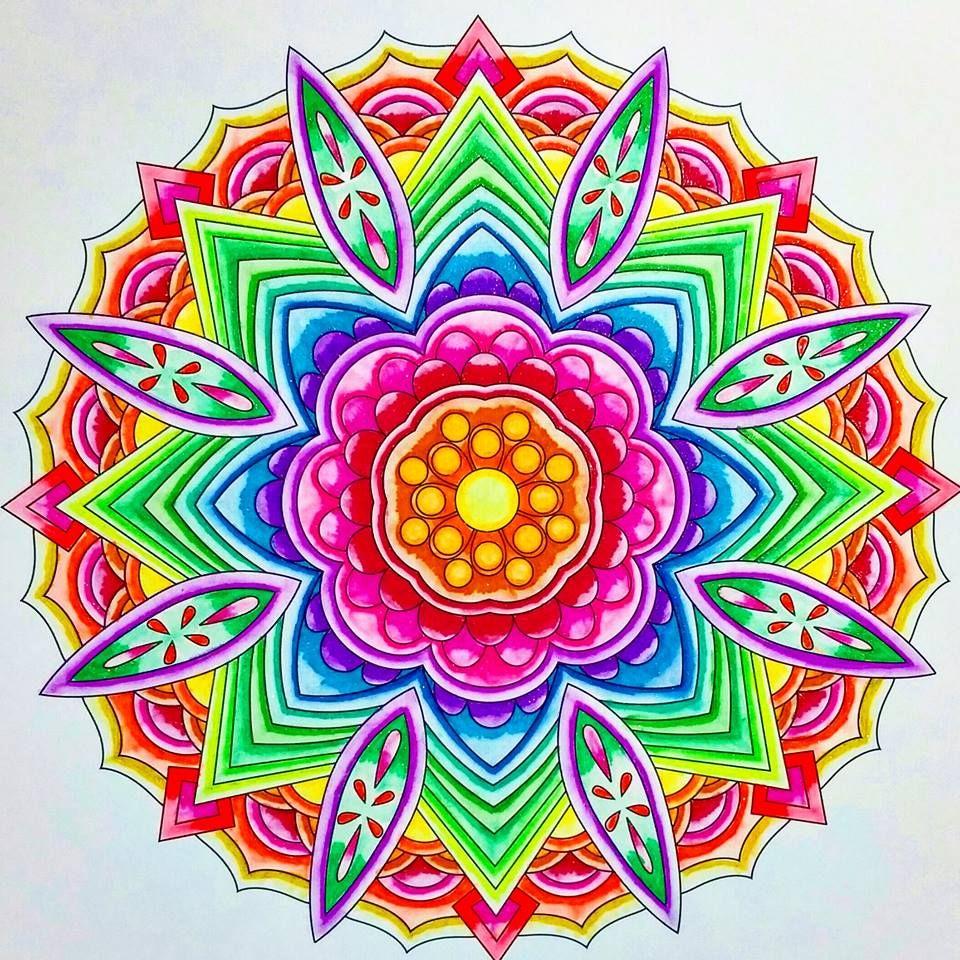 Colorit Mandalas To Color Volume 1 Colorist Marla Theodoro Adultcoloring Coloringforadults Mandalas Mandala Coloringpages Cores Mandala Desenhos