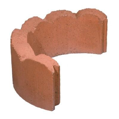 1 1 2 Ft Concrete Tree Ring Section 100002704 The Home Depot Brick Decor Home Depot Concrete