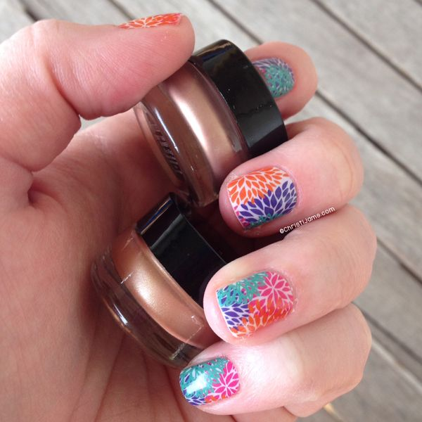 Jamberry Nails: Punchy Puff