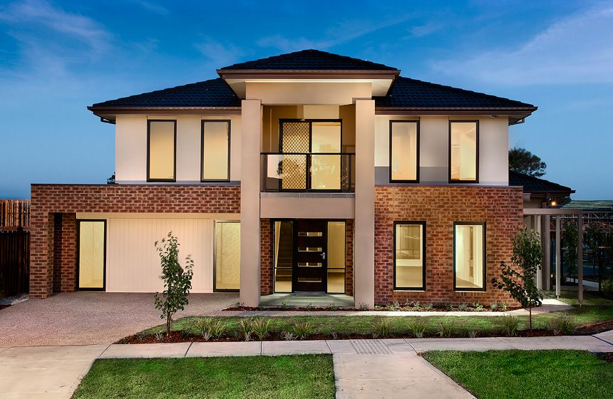 Design for houses new home designs latest brunei homes for Exterior facade ideas