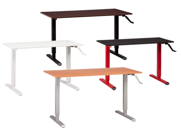 build your own modtable adjustable standing table legs can be sold separately from table top
