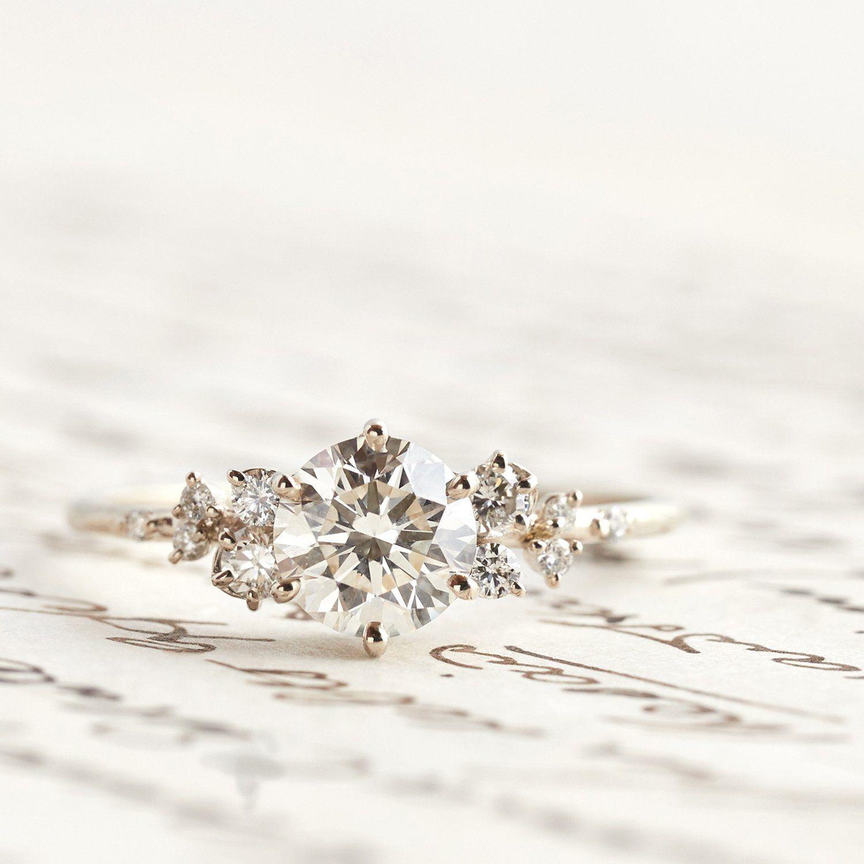 Diamond Snowdrift Ring Diamond anniversary rings