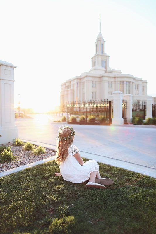 LDS temple photography | LDS baptism photography ideas | Payson ...