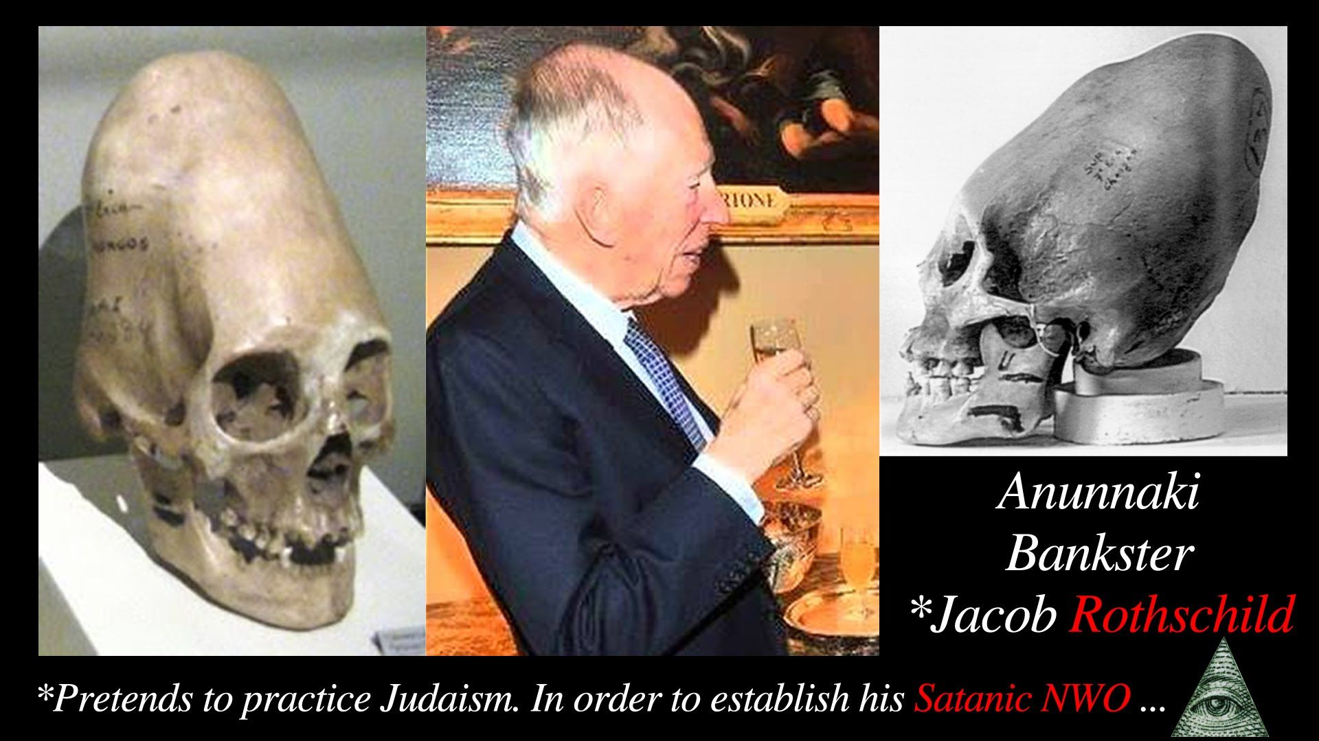 Jacob Rothschild  Anunnaki-Reptilian  Bankster  PINDAR - The Lizard