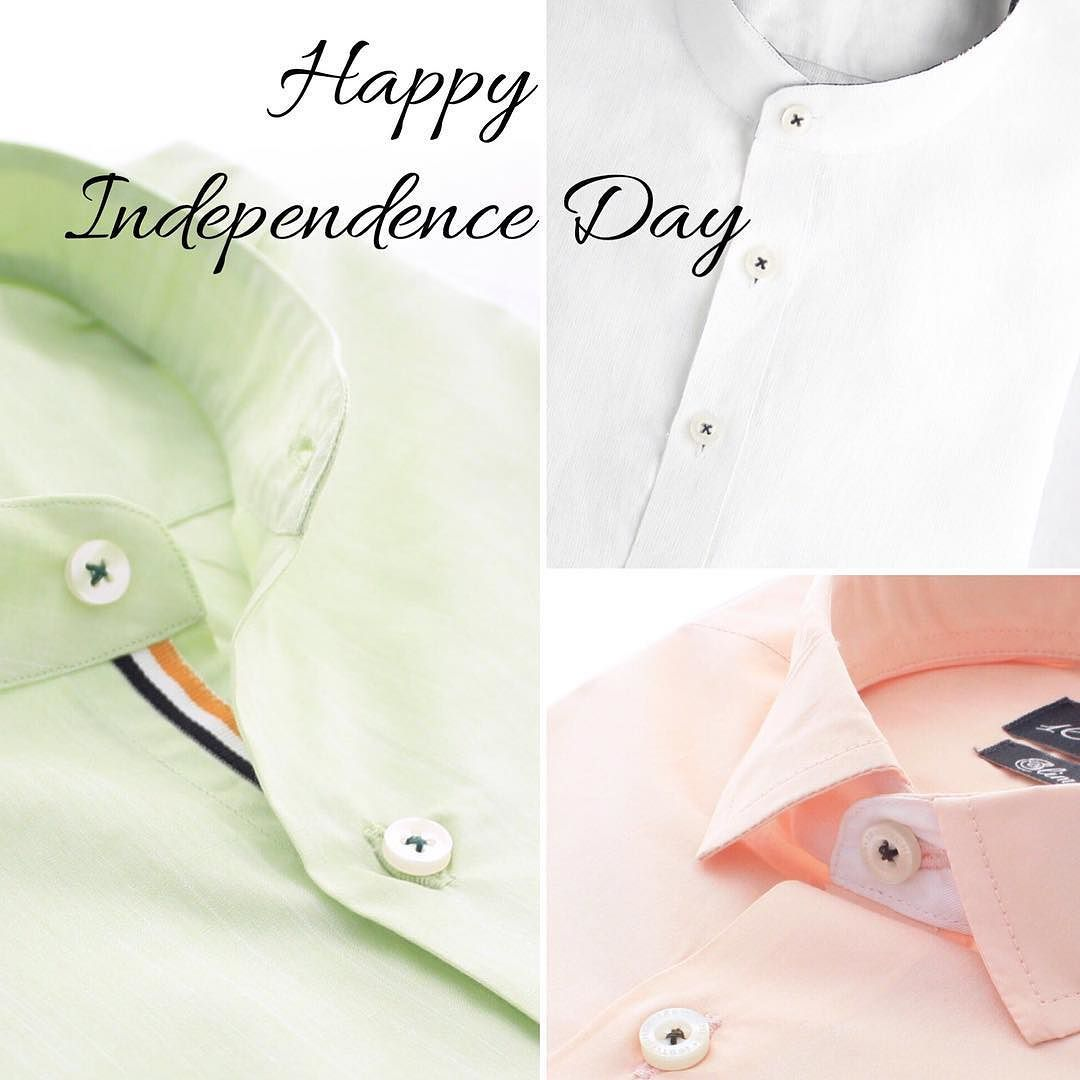 We wish you all a Happy Independence Day!  #tricolor #india #independenceday #happy #celebration #flag #menswear #mensstyle #mensfashion #fb #gentlemen #dappermen #proudindian #instagood #instalike #instapic #picoftheday #formal #formals #mumbai #delhi #bangalore #shirts