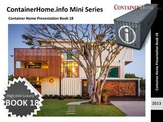 Shipping Container House Plan Book Series – Book 18 - Shipping Container Homes - How to Plan, Design and Build your own House out of Cargo Containers