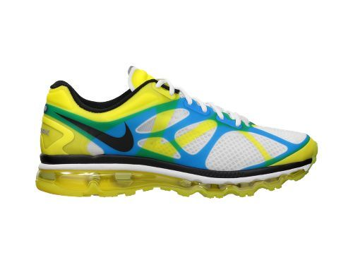 schwarz and yellow air max 2012