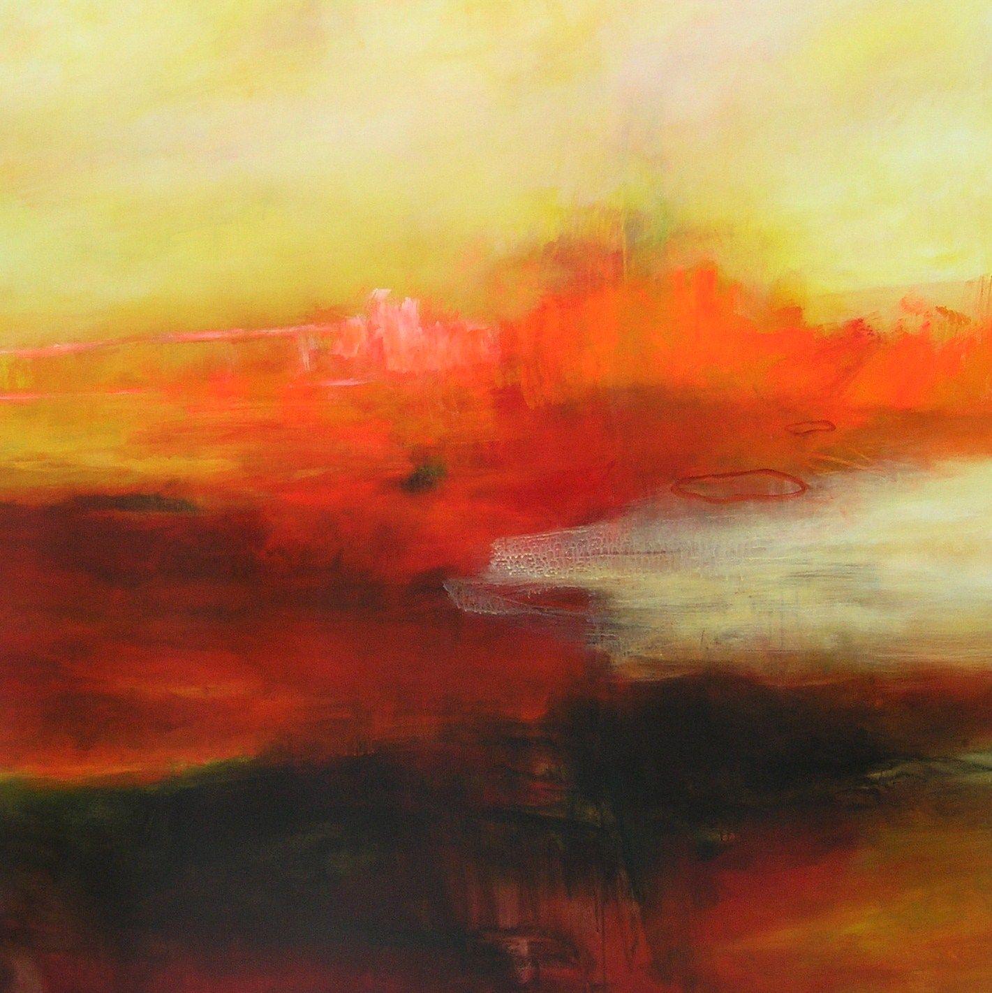 150 x 150 cm. Acrylic on canvas. 2011