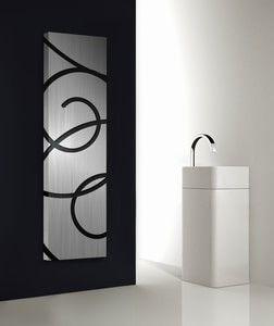 BASQUIAT design radiatoren Kunstzinnige woonkamer verwarming ...