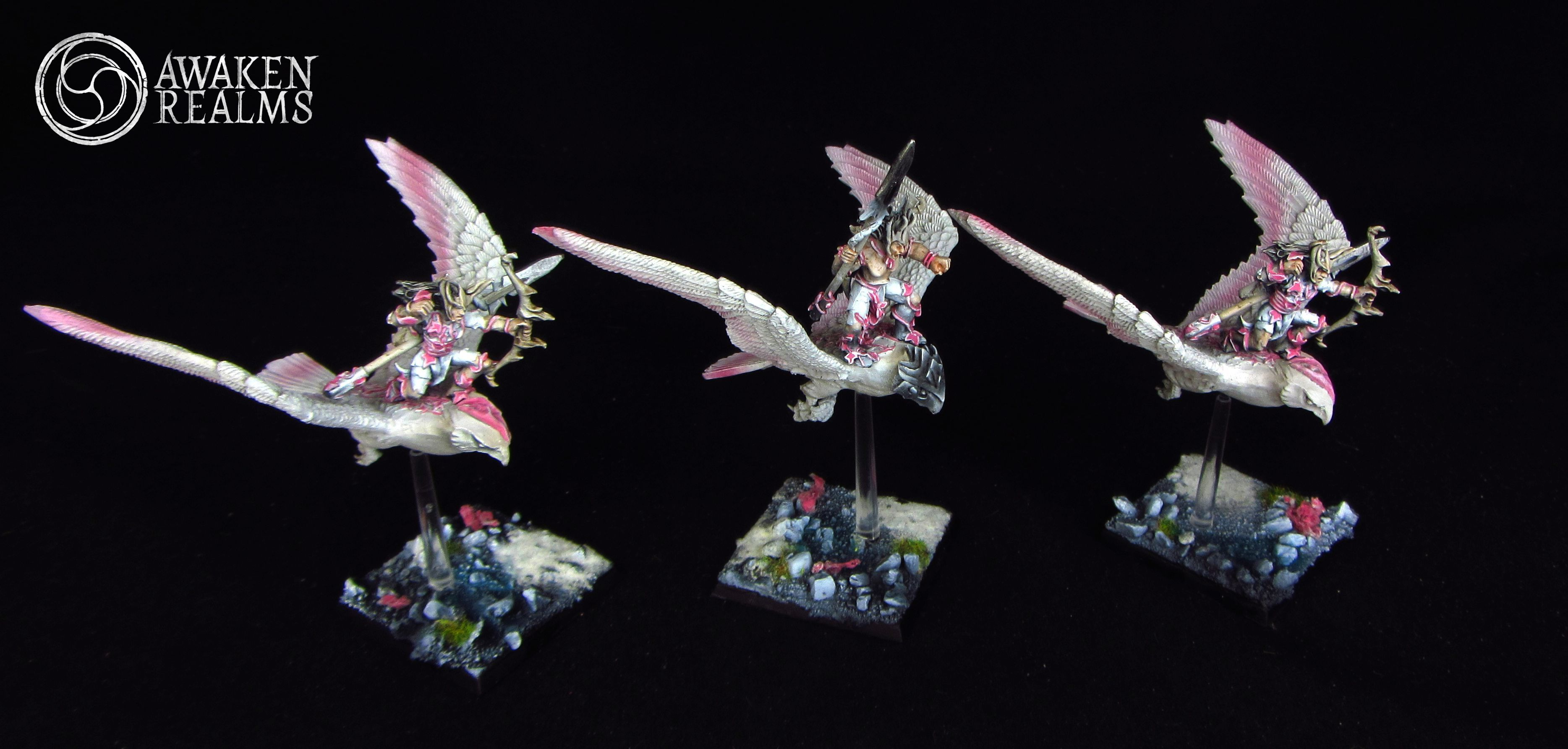 Wood Elves Warhawks japanese cherry blossom style