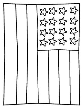 American Flag Free Printable Fourth Of July Coloring Page American Flag Crafts Preschool American Flag Coloring Page Flag Coloring Pages