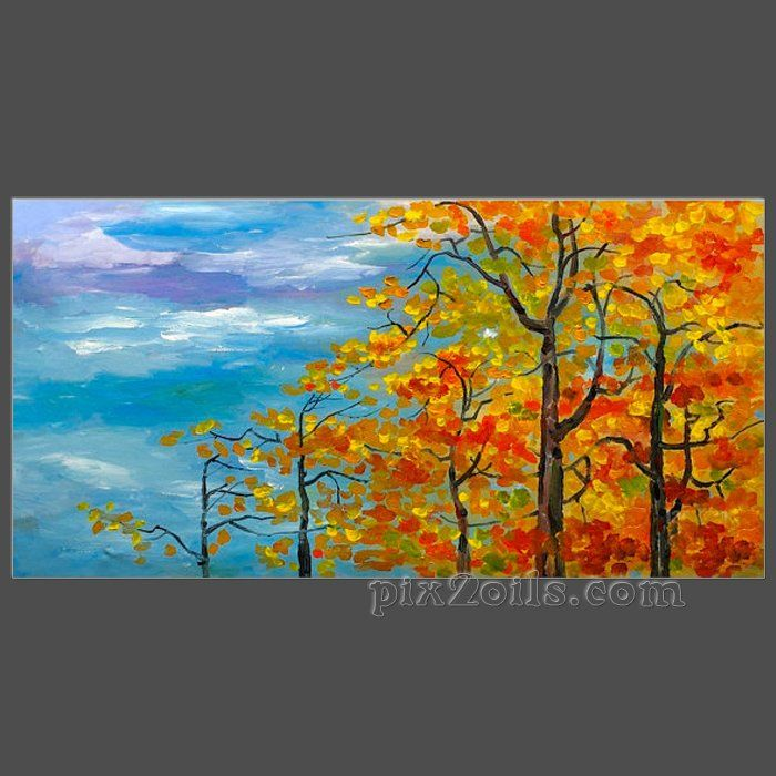autumn acrylic painting - Google Search