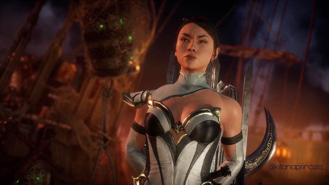 Mortal Kombat 11 Kitana Mortal Kombat Characters Kitana Mortal