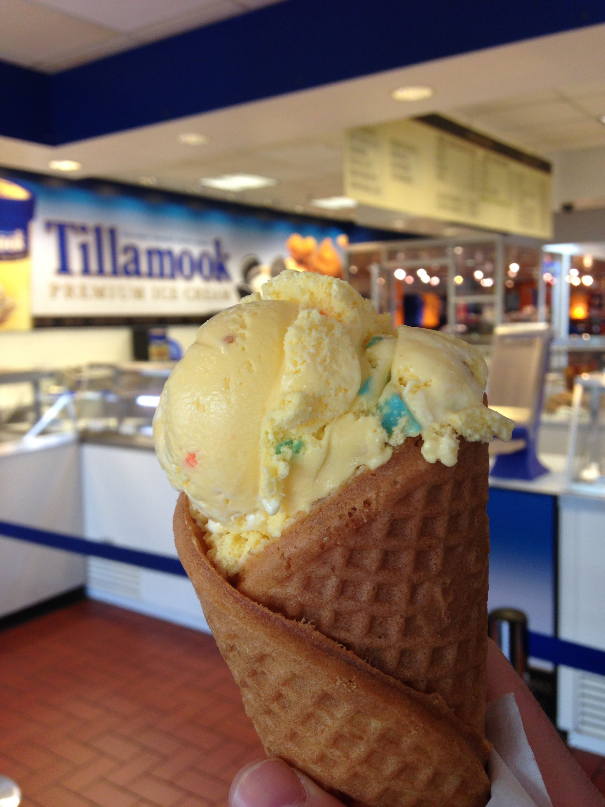 Grandmas Cake Batter Ice Cream From Tillamook