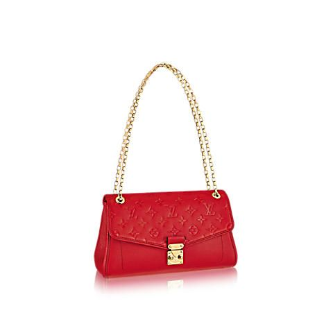 Discover Louis Vuitton Saint-Germain PM  This feminine handbag is the epitome of elegant practicality. Its smaller size gives it class with a fashion edge, suitable for both evening and daytime occasions. Thanks to the adjustable chain, it can be worn casually over the shoulder or carried on the elbow or hand for more sophistication.