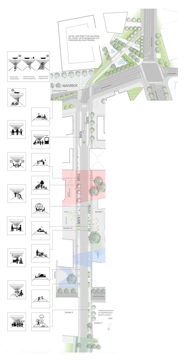 freiland (2015): Design of the central public transport axis, Graz (AT), via competitionl ... - Sara's Collection