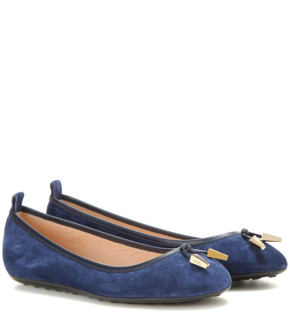 Tod's Ballerinas in Suede RphLQr