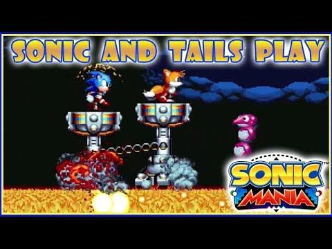 Sonic and Tails Play: Sonic Mania | Episode 10 - YouTube | Sonic's
