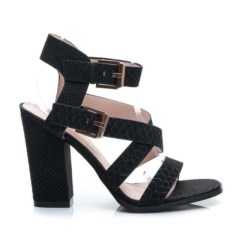Sandaly Na Slupku Heeled Mules Shoes Mule Shoe