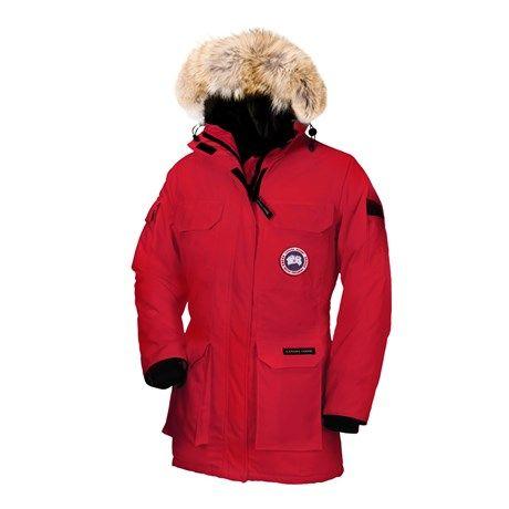 Canada Goose Expedition Parka Red Dame Jakke Til Salgs Canada Goose Expedition Parka Canada Goose Women Fashion