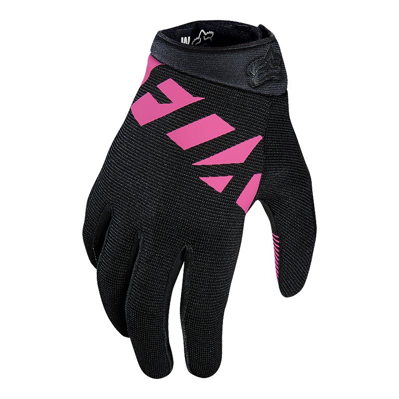 Fox Ripley Women S Mountain Bike Gloves Black Pink Mountain