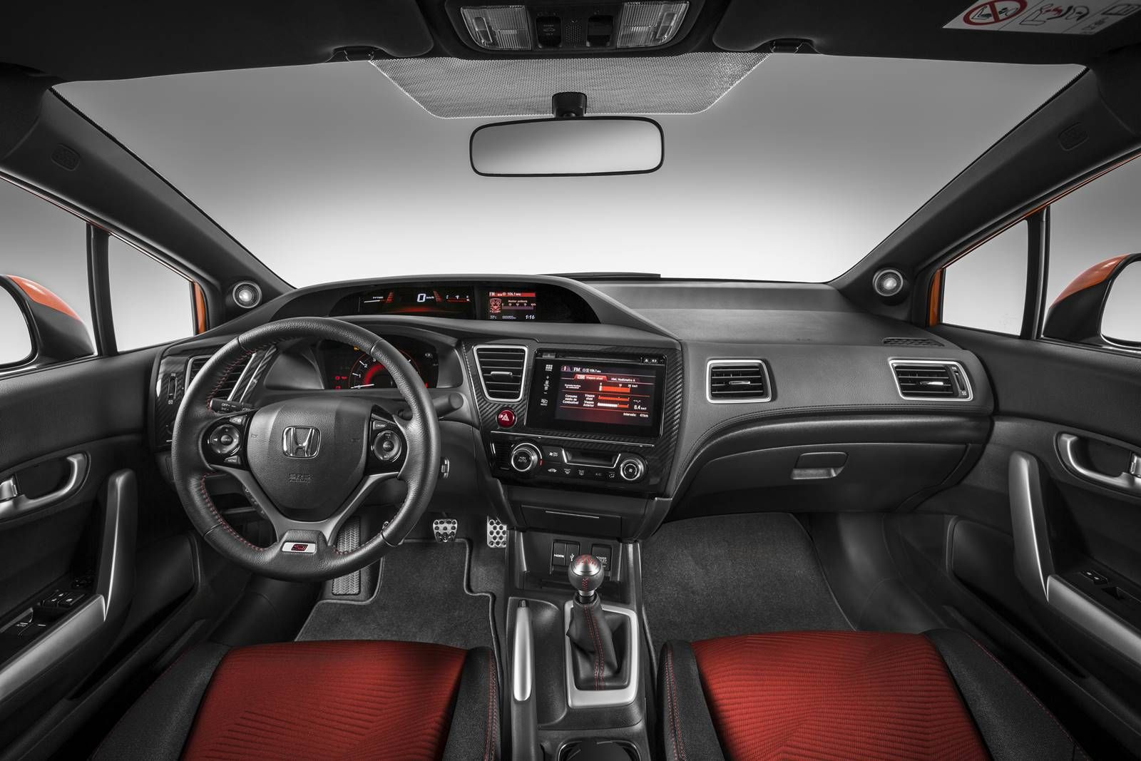 Honda Civic Si 2015 Interior From Back Angle Pictures