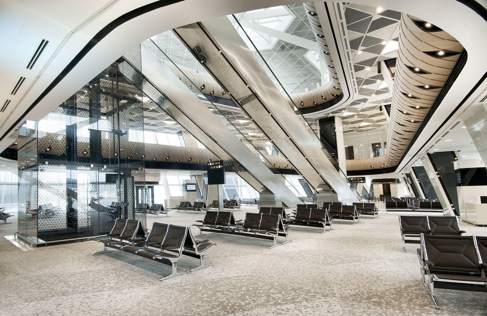 Gallery Of Heydar Aliyev International Airport Baku Autoban 15 Airport Design Architecture International Airport