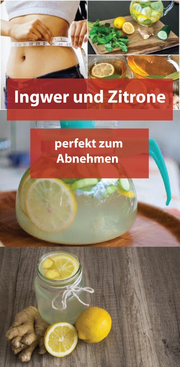 Schlankes Zitronenwasser